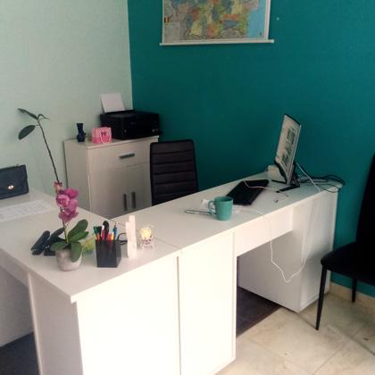 Unul dintre birourile noastre